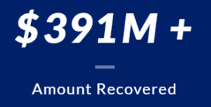 Over 391 Million of dollars Amount Recovered
