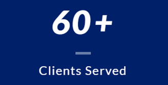 Over 60 Customers served