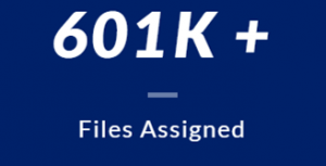 Over 601 thousand Assigned files