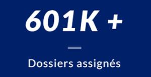 Plus de 601 mille Fichiers attribués